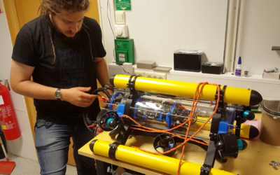 Water Drone with Acoustic GPS