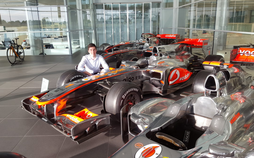 Inside the McLaren Racing Wind Tunnel